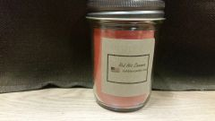 Red Hot Cinnamon 8 ounce jar candle