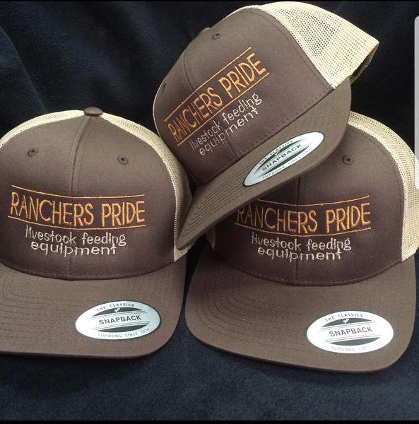 205b4cfa802 Ranchers Pride Hat- Brown