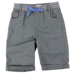 Toddler Boys Copper Denim Twill Shorts - Shadow