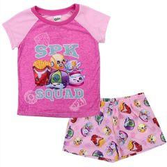 Shopkins Girls 2 Piece Pajama Short Set