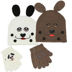 Toddler Hat & Gloves Set