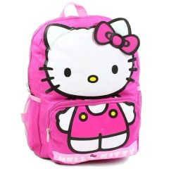 "Hello Kitty 14"" Big Face Backpack"