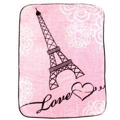 Luvable Friends High Pile Blanket, Paris