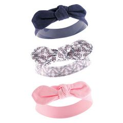 Yoga Sprout 3 Pack Headbands, Trellis