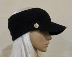Black Three Season Visor - Long Bill