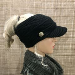 Ponytail hats. Open Top. Soft. Warm. Available in Fleece Lined ... f9c70caa90d