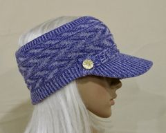 Purple Mix Three Season Visor - Long Bill