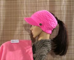 Hot Pink Fleece Lined Sporty