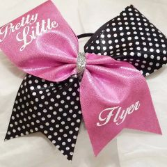 CHEER BOW - PRETTY LITTLE FLYER CHEER BOW - ( other colors available )