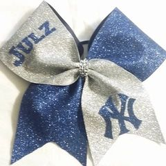 CHEER BOW - YANKEES - with option to add name