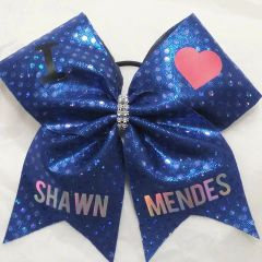 I LOVE SHAWN MENDES - BLUE HOLOGRAM DOTS