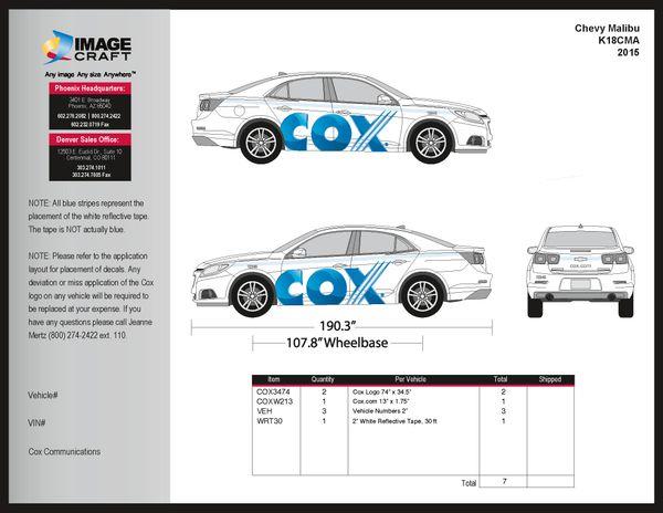 Chevy Malibu 2015 - Complete Kit