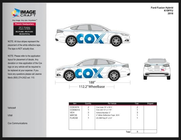Ford Fusion 2012-2018 - Residential - Complete Kit