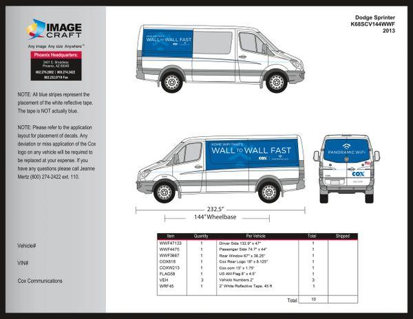Dodge Sprinter - Wall to Wall Fast - 2013 - A la Carte