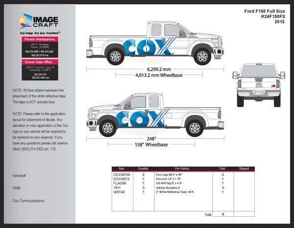 Ford F150 2012 - A la Carte