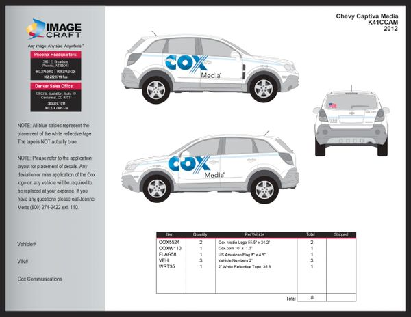 Chevy Captiva 2012 - Media - Complete Kit