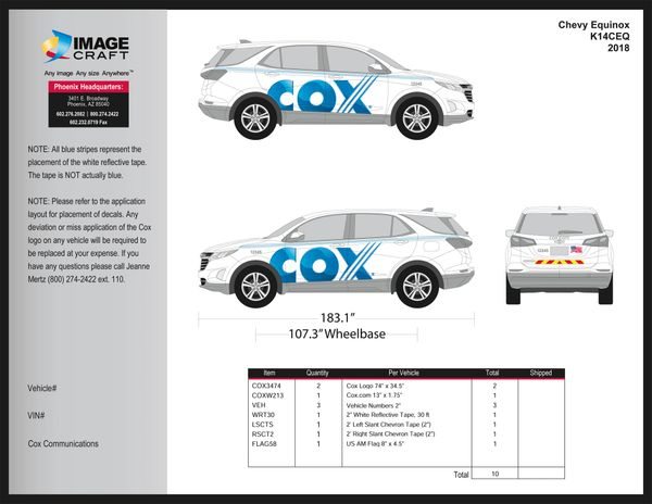 Chevy Equinox 2015-2018 - Complete Kit