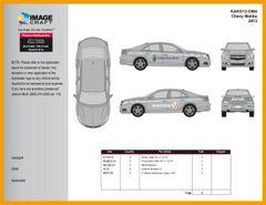 Chevy Malibu 2013 - Autotrader/KBB - Complete Kit
