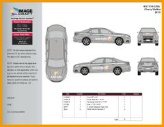 Chevy Malibu 2013 - Autotrader - Complete Kit