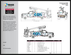Bucket Truck F450 2018 (K81BT AT235) - A la Carte