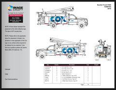 Bucket Truck F550 2010 (K58BT84) - Complete Kit