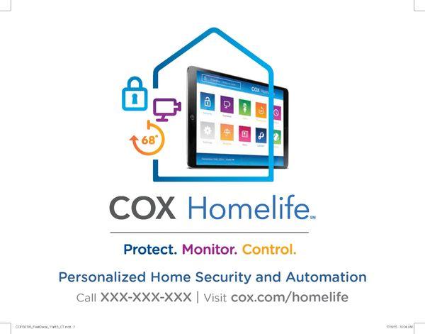 Cox Home Life - Adhesive Fleet Decal