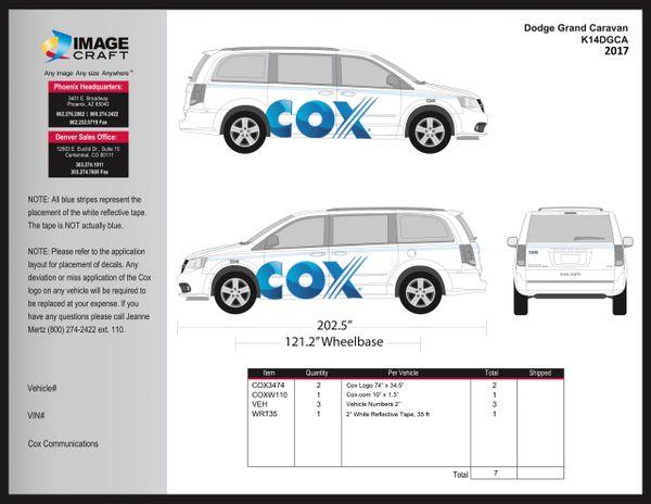 Dodge Grand Caravan 2017 - Complete Kit