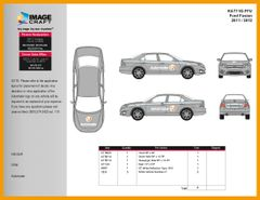 Ford Fusion 2011/2012 - Autotrader - Complete Kit