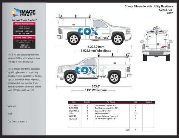 Chevy Silverado w Utility - Business - Complete Kit