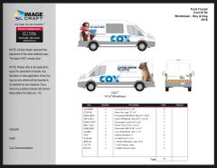 Ford Transit Windblown 2018 - Complete Kit