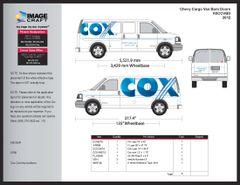 Chevy Cargo Van with Barn Doors 2012 - A la Carte