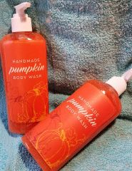 Handmade Pumpkin Body Wash 8 ozs