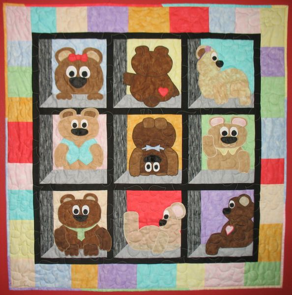 Teddy Bear Quilt Quilt Patterns Baby Quilts Jastitches