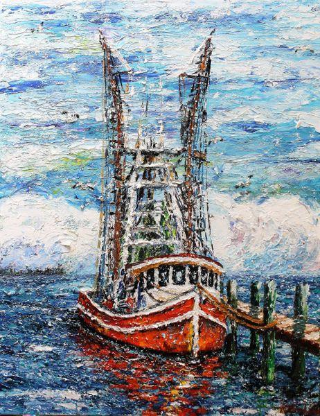 """""""Louisiana Shrimp Boat"""""""
