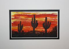 """Saguaro Sunset #1"