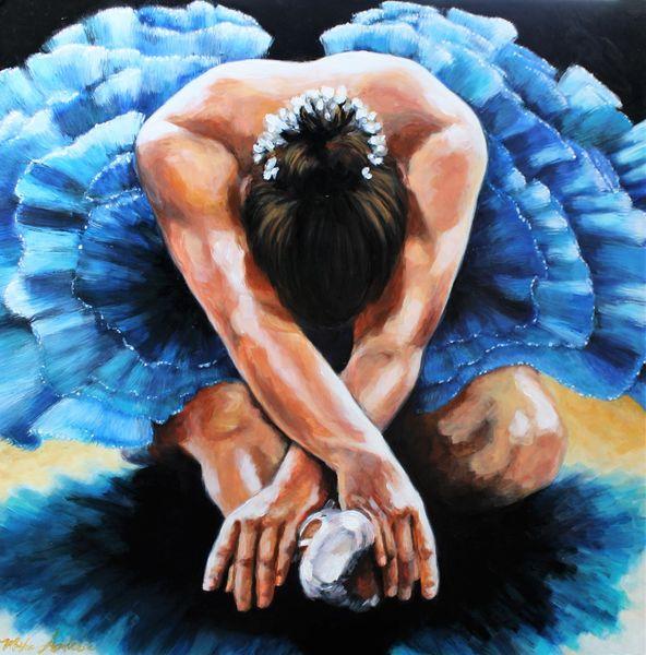 """Blue Ballerina"""