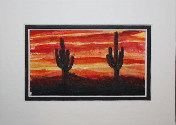 """Saguaro Sunset #2"""