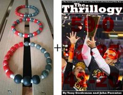 Men's bracelet trio and The Thrillogy