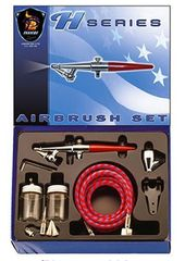 Paasche H-SET Single Action Siphon Feed Airbrush Set (PASH)