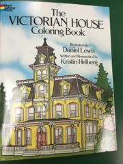 Victorian House Coloring Book (DOV23908-X)
