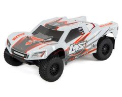 Losi Tenacity SCT RTR 1/10 4WD Short Course Truck White/Orange (LOS03010T2)