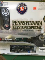 Lionel Pennsylvania Keystone Special Steam Train Set O-27