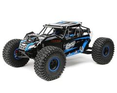 Losi Rock Rey 1/10 4WD RTR Electric Rock Racer Blue (LOS03009T2)
