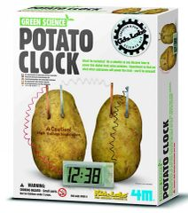 Green Science Potato Clock Kit (TYS4568)