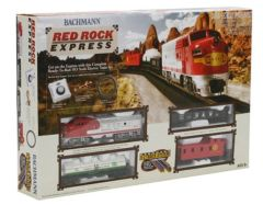 Bachmann HO RED ROCK EXPRESS Train Set, SF (BAC00678)