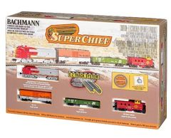 Bachmann Super Chief N Scale Electric Train Set (BAC24021)