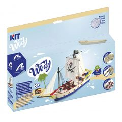 Latina My First Wooden Pirate Ship Kit 8+ (LATB0509)