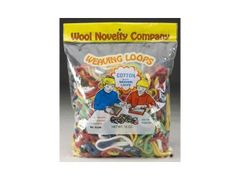 Cotton Weaving Loops 16oz. Bag (WOLY0412)