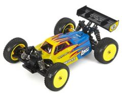 Losi Mini 8IGHT 1/14 Scale 4WD Brushless Electric Buggy RTR Blue (LOS01004T1)