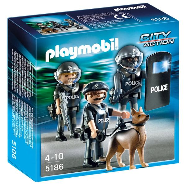 Playmobil City Action Police Unit Hobby Bench Stores